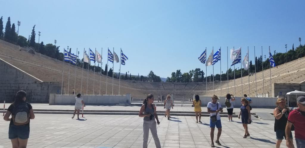 The great Olympic stadium in Greece