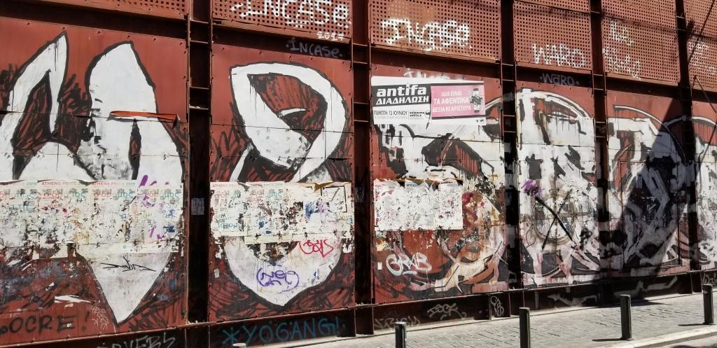 Graffiti in Athens 1